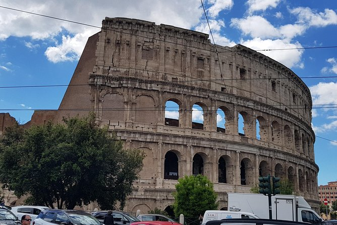 from Civitavecchia Colosseum and Ancient Roman forum direct entry