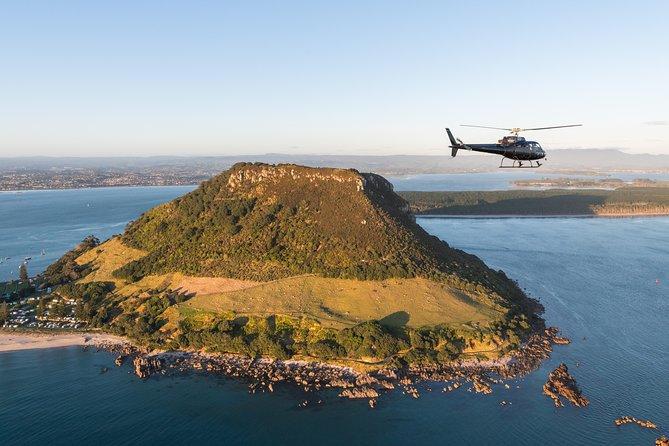 Mount and Maketu Helicopter Flight From Tauranga