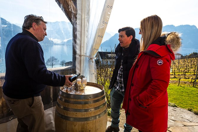 Weekend Wine Tasting by Lake Lucerne