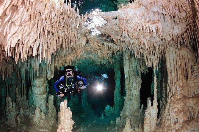 Cenote diving Riviera Maya