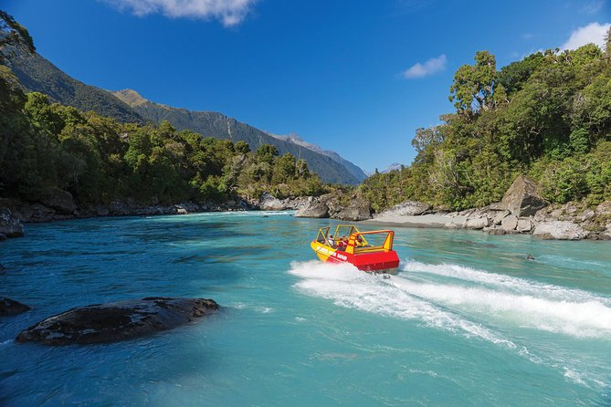 Private Tour: Waiatoto Jet Boat River Safari from Haast