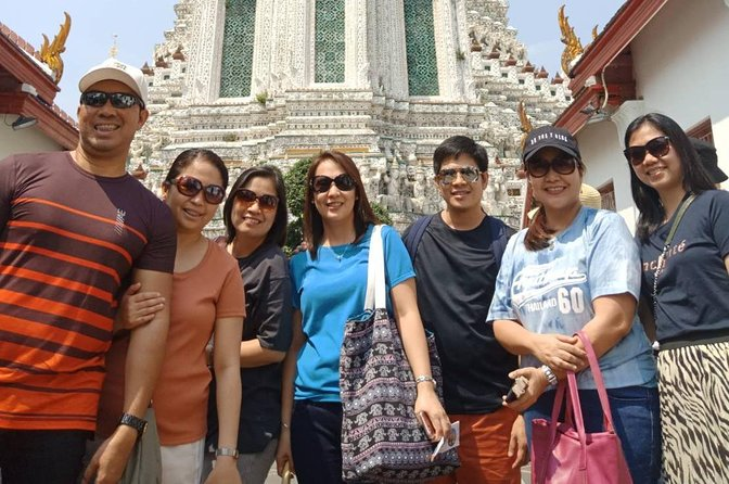 Group Portrait at Wat Arun.