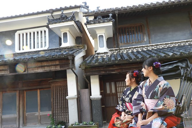 [Tokushima / Mima City] Time slip to the Edo period! Rickshaw experience in the streets of Udatsu