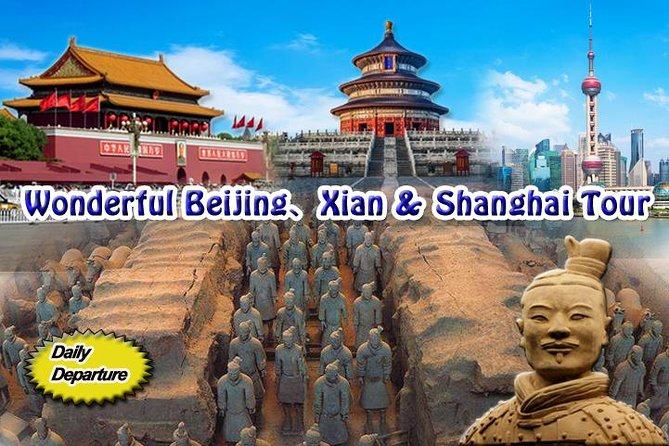 [7 days] Beijing-Xian-Shanghai Tour by high speed trains - SMALL GROUP TOUR photo 1