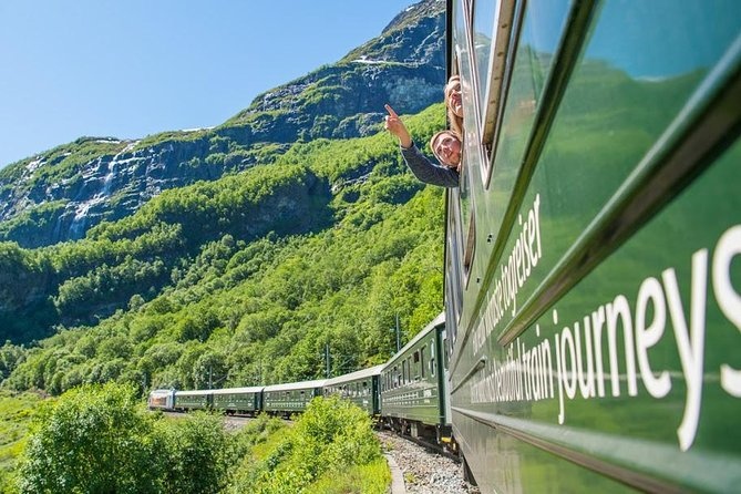 Guided day tour to Flåm - incl Sognefjord Express Cruise and Flåm Railway