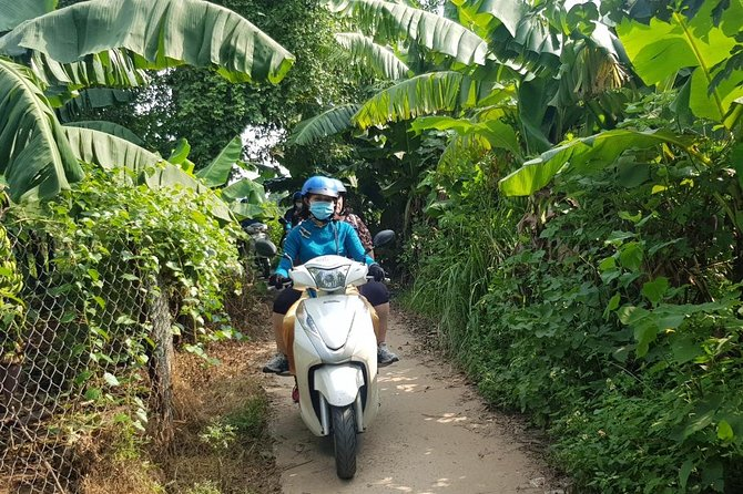 Hanoi City sights & Red River Delta Tour on motorbike