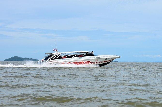 Koh Kradan to Krabi by Satun Pakbara Speed Boat