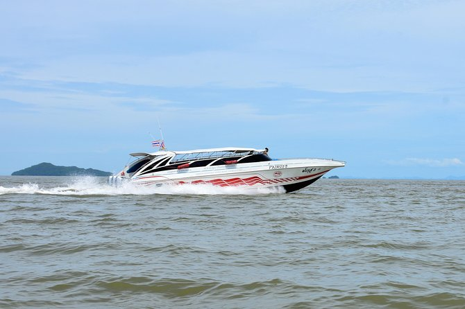 Koh Lanta to Railay Beach by Satun Pakbara Speed Boat