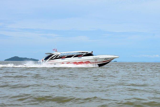 Koh Kradan to Koh Yao Yai by Satun Pakbara Speed Boat