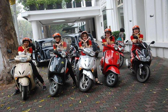 (Small Group) Hanoi City Insight Motorbike Tour - 4,5 hours