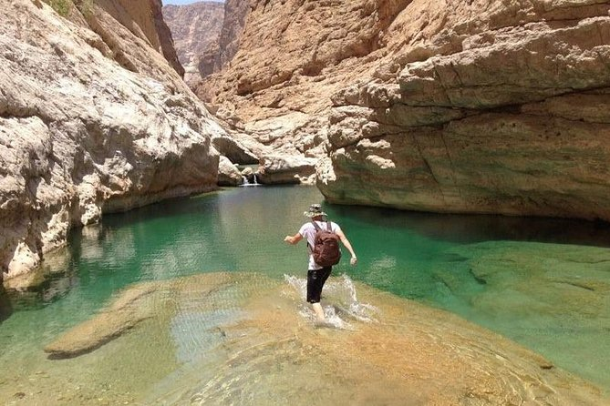 Off-road driving and swimming at the wild Wadi Arbeen photo 1