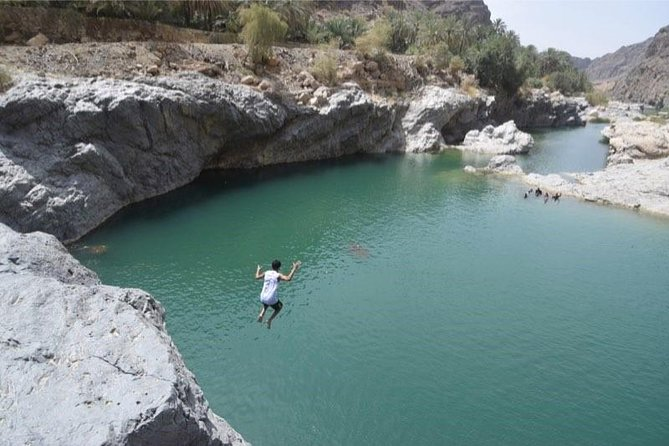 Off-road driving and swimming at the wild Wadi Arbeen photo 3