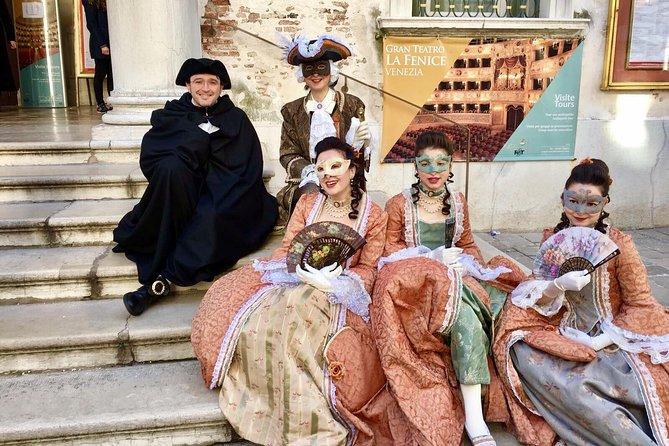 Secrets of Venice Carnival and the life and times of Giacomo Casanova