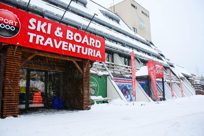 Ski and Snowboard equipment rental in Borovets
