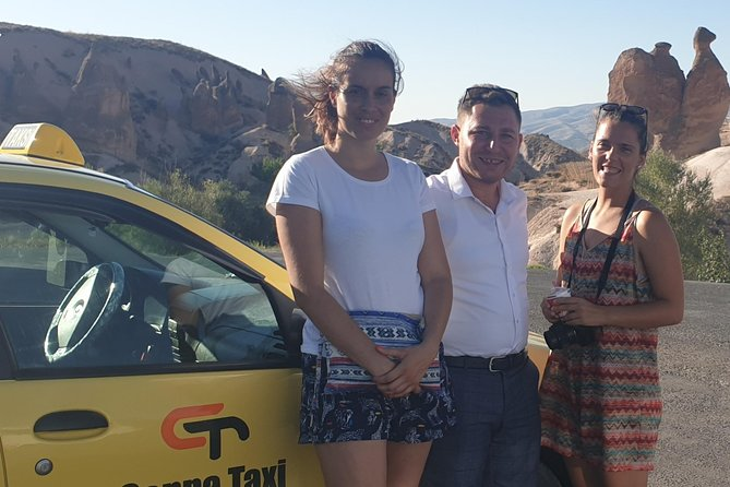 Discover Cappadociain oneday! Luxury taxi tour with private english speak driver