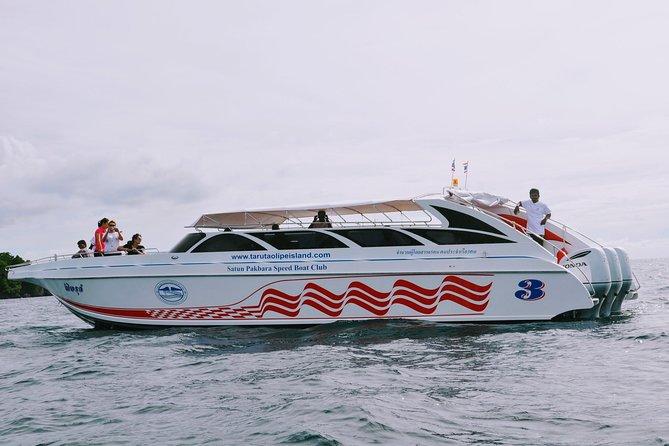 Koh Lipe to Koh Yao Noi by Satun Pakbara Speed Boat