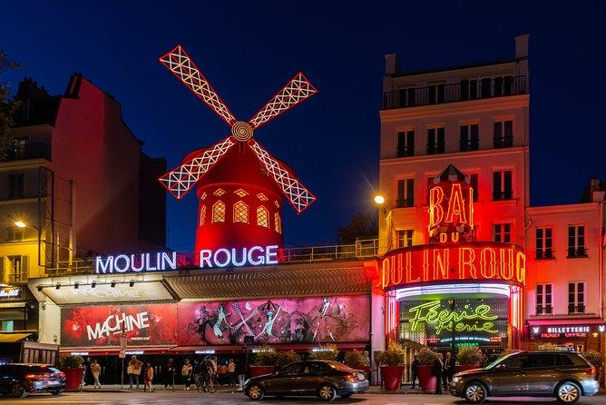 Eiffel Tower Dinner, Seine River Cruise & Moulin Rouge Cabaret Show