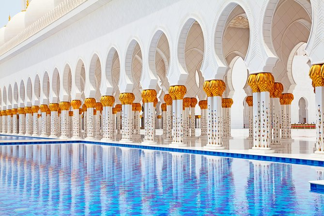 Wheelchair Accessible Half Day Tour Abu Dhabi to Sheikh Zayed Grand Mosque