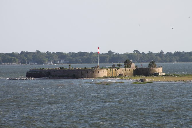 Castle Pinckney in the Charleston Harbor