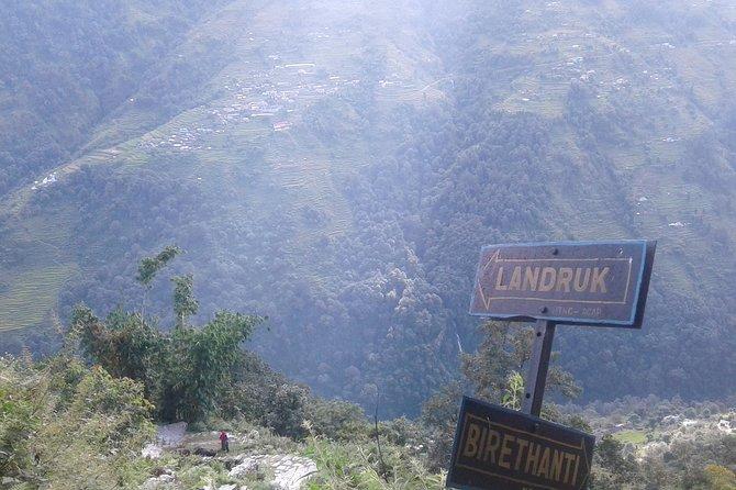 The Ghorepani-Ghandruk Trek