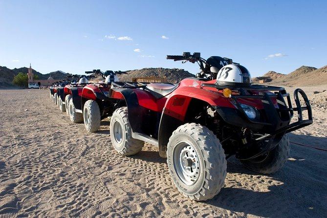 3 Hours Quad Sunrise Safari & Camel Ride - Hurghada