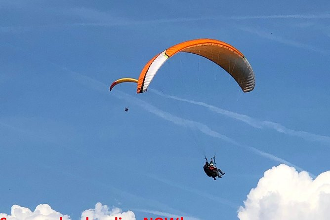 Tandem Flight Zurich-Engelberg