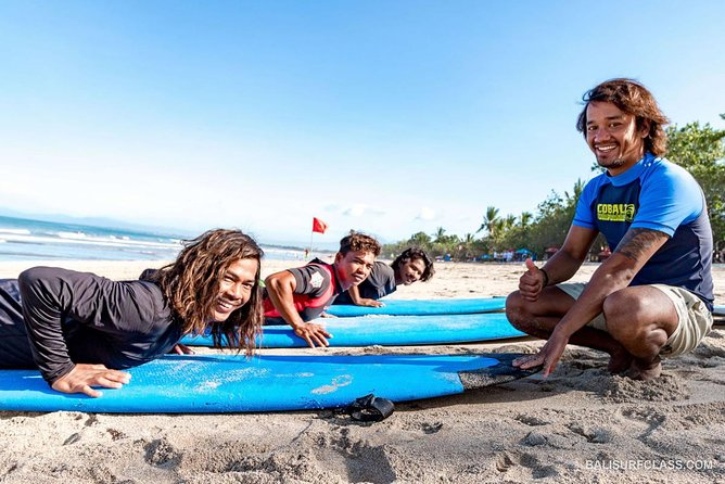 The best surf lessons in Kuta