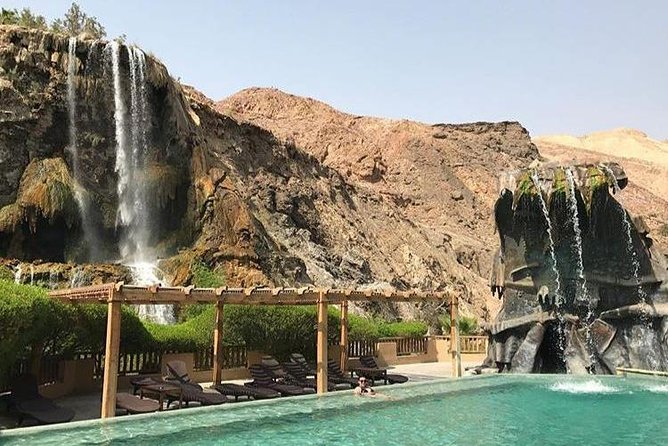 Dead Sea to Ma'in Hot Springs Day Tour