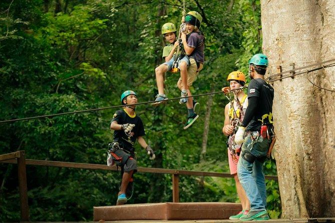 Flying Hanuman Ziplining Experience at Phuket with Return Transfer