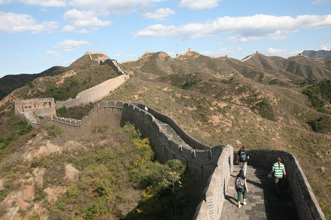 1 Day Mini Group Great Wall Hiking Tour from Simatai West to Jinshanling
