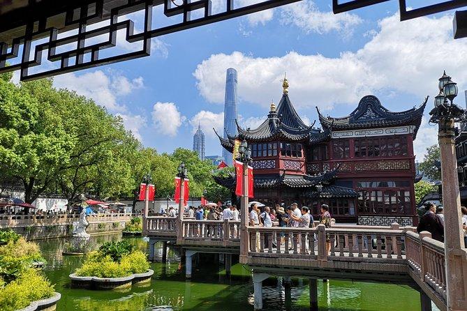 Jardim Privado Yu, The Bund, Concessão Francesa, Pudong Tour de Meio Dia