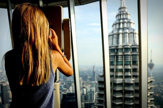 Omita la fila Boleto de la Torre Petronas con entrega gratuita en el hotel