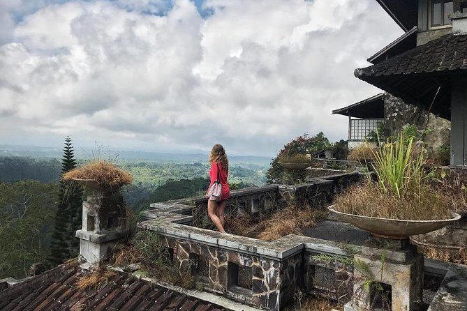 Abandoned Ghost Palace Hotel,Coffee Garden,Handara Gate of Bali