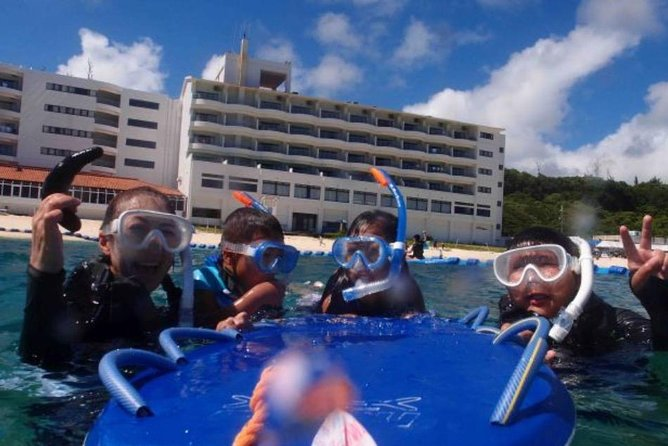 【OKINAWA / Motobu / Nakijin】 Beach Snorkeling Course for only one group in the morning and afternoon