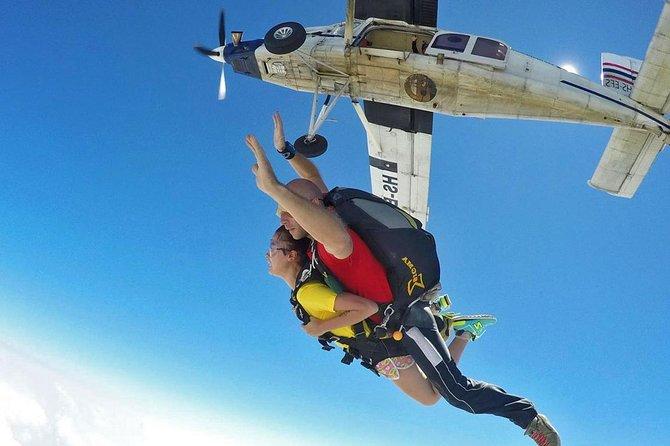 Tandem Skydiving : Thai Sky Adventures Pattaya with Return Transfer