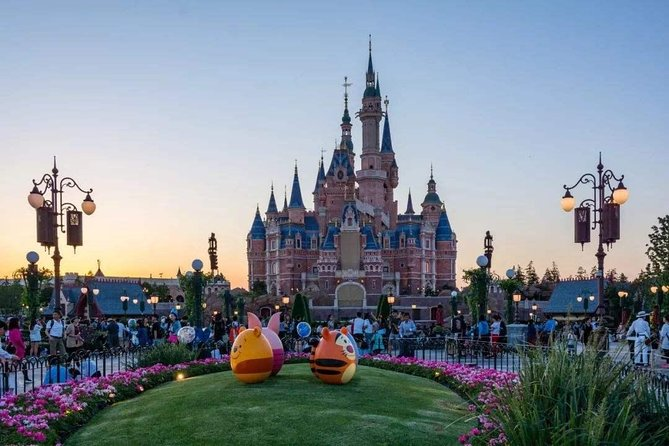 shanghai Disney+shanghai one day city highlights tour (two days)