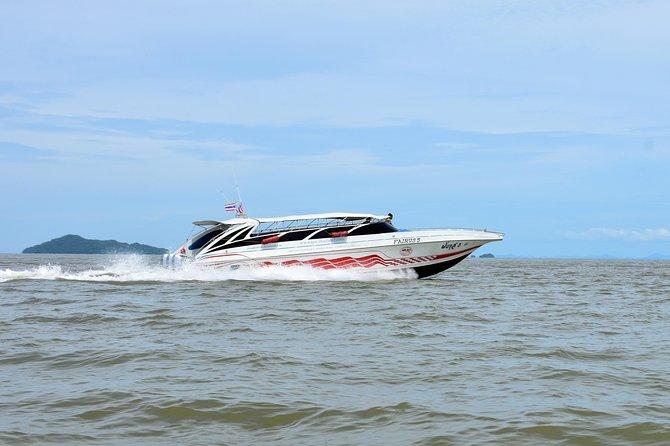 Krabi to Koh Lanta by Satun Pakbara Speed Boat