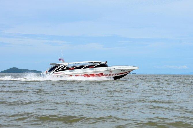 Krabi to Koh Ngai by Satun Pakbara Speed Boat