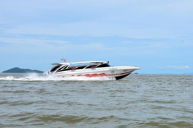 Krabi to Koh Kradan by Satun Pakbara Speed Boat