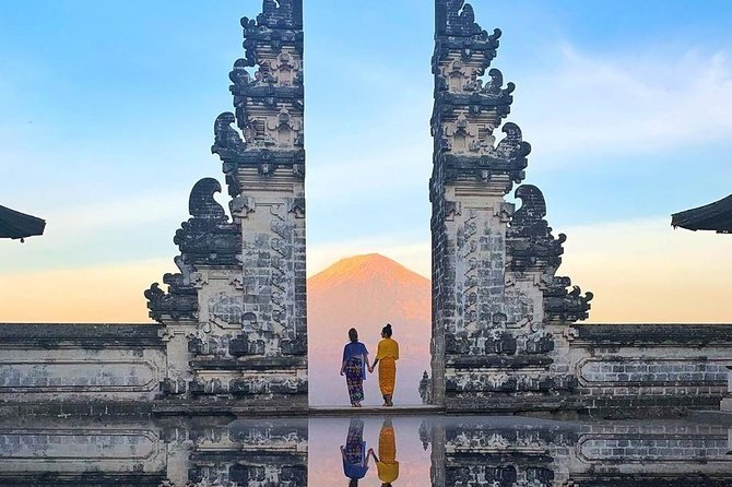 Gate Of Heaven Bali , Water Palace and White Water Rafting
