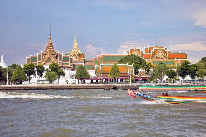 Halbtagstour: Klongs von Thonburi und Großer Palast von Bangkok