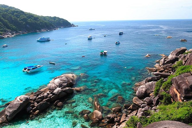 Phuket to Similan Islands Snorkeling Tour