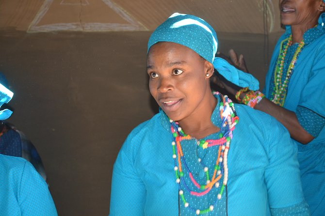Dancing Basotho Lady