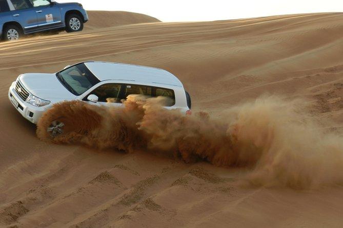 Evening Red Dunes Desert safari with BBQ Dinner & Quad Bike