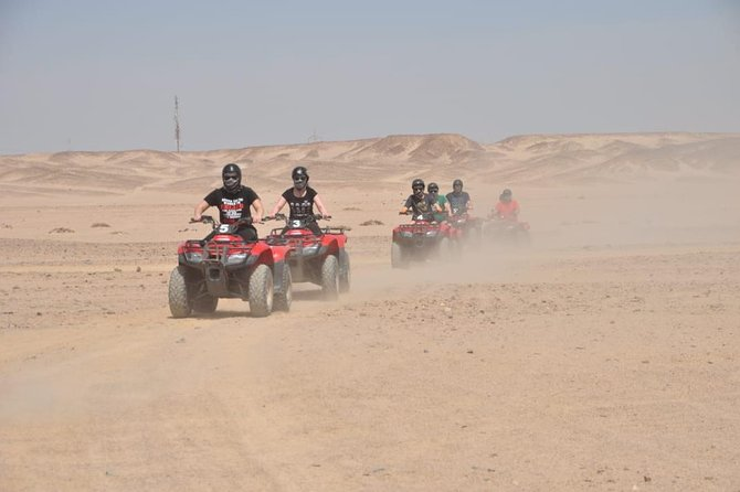 Quad Bike & Speed Boat & Camel Riding 3*1 Adrenaline Trip - Hurghada