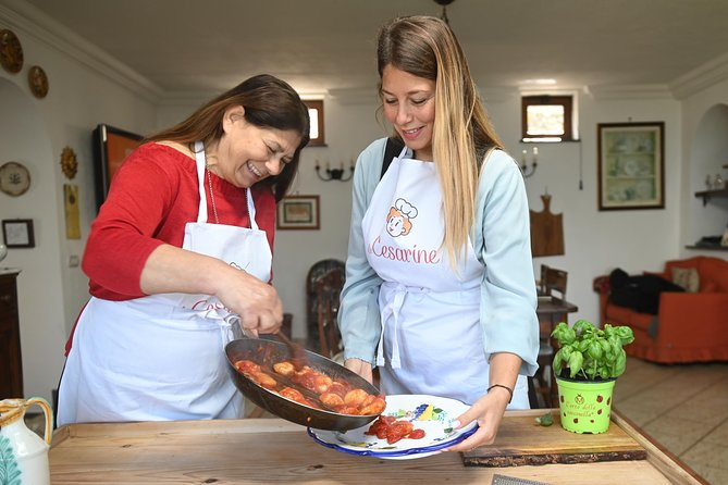 Share your Pasta Love: Small group Pasta and Tiramisu class in Capri