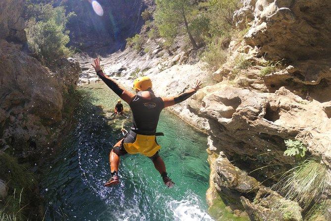 Canyoning at Guadalmina near Marbella