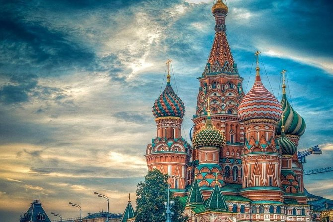 Royalty City Tour Moscow New Maiden's/Danilov Monastery & Saint Basil Cathedral