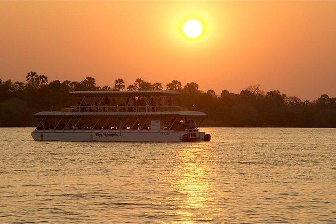 Zambezi Sunset Cruise - Pick Ups from Victoria Falls Town
