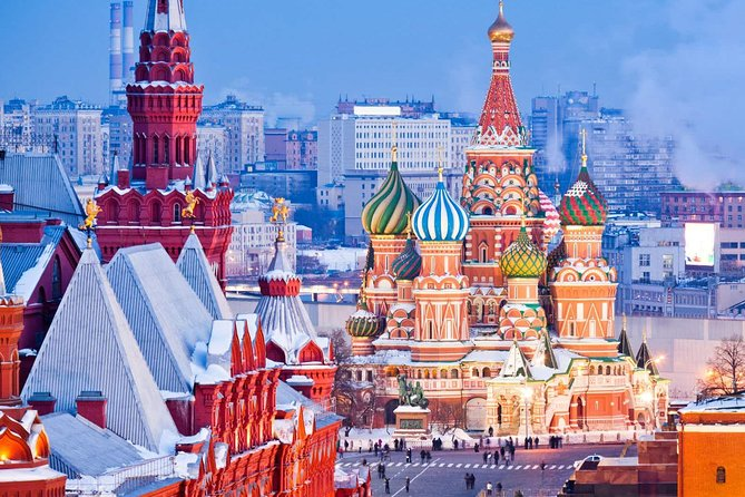 Royalty City Tour Moscow & Saint Basil's Cathedral